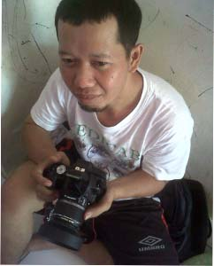 The fiman and his camera